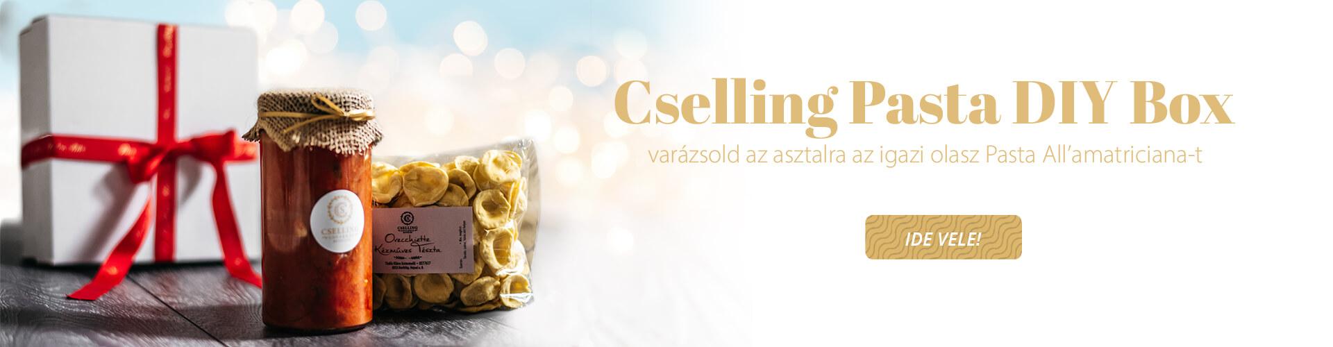 Cselling Pasta Box Karácsonyi ajándék